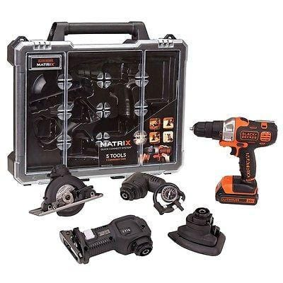 Black & Decker Matrix Cordless 5-Tool Quick Connect 20V System NIB