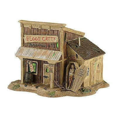 Dept 56 Halloween 2013 Blood Creek Jailhouse #4030761 NIB