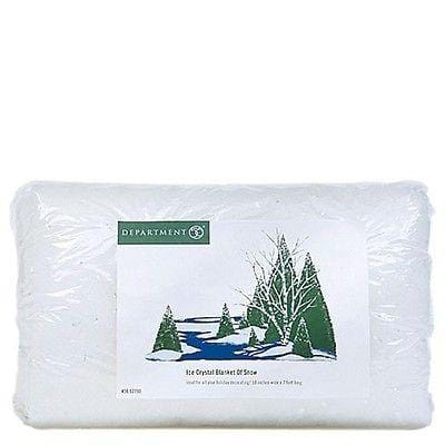 Dept 56 Village Ice Crystal Blanket #52841 NEW FREE SHIPPING 48 STATES