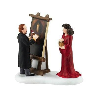 Dept 56 Dicken's 2016 Rossetti & His Muse #4050937 NIB FREE SHIPPING 48 STATES