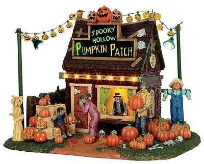 Lemax 2015 Spooky Hollow Pumpkin Patch #54902 NIB FREE SHIPPING 48 STATES