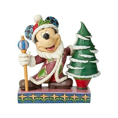 Jim Shore Disney Traditions 2019 Mickey Father Christmas #6002831 Free Shipping 2019