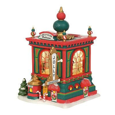 Dept 56 North Pole 2019 Jolly Club Ballroom #6003107  Free Shipping 48 States 2019