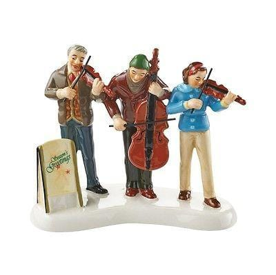 Dept 56 Snow Village 2015 The Sounds Of Christmas & String Trio #4049208/4049214