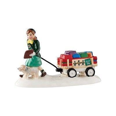 Dept 56 Snow Village 2016 Girl Scout Cookie Time #4050991 NIB FREE SHIP 48 STATE