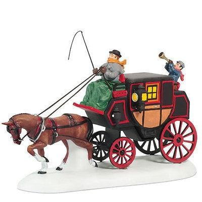 Dept 56 Dicken's Crowntree Coach #807228 MIB FREE SHIPPING 48 STATES