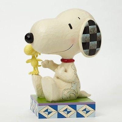 Jim Shore Peanuts 2015 Big Figure Snoopy w/Woodstock #4045873 NIB