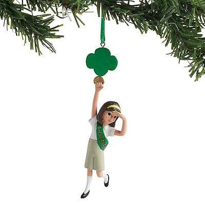 Dept 56 Girl Scout 2017 Junior Personalizable Ornament #4058529 NEW FREE SHIP