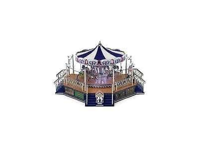 Mr. Christmas Worlds Fair Platinum Boardwalk Carousel #79784 NIB FREE SHIPPING