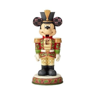 Jim Shore Disney Traditions 2018 Mickey Mouse Nutcracker #6000946 Free Shipping 48 States     2018