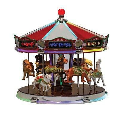 Mr. Christmas 1939 World's Fair Carousel #79789 NIB