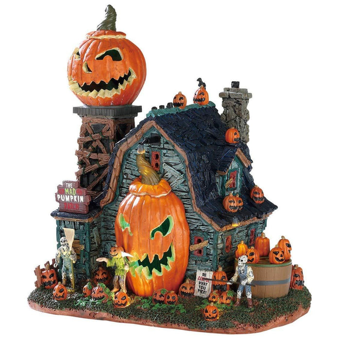 Lemax Spooky Town The Mad Pumpkin Patch Signature Collection  75172  Free Shipping 48 States