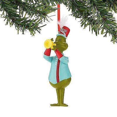 Dept 56 Grinch 2015 Band Grinch Ornament #4044937 NEW FREE SHIPPING 48 STATES