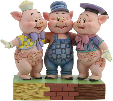 Disney Traditions Three Little Pigs 6005974  Free Shipping 48 States 2019