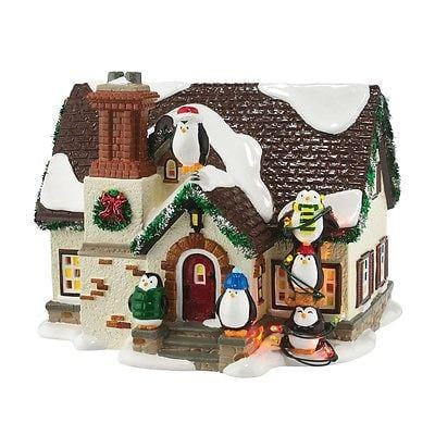 Dept 56 Snow Village 2016 The Penguin House #4050980 NIB FREE SHIPPING 48 STATES