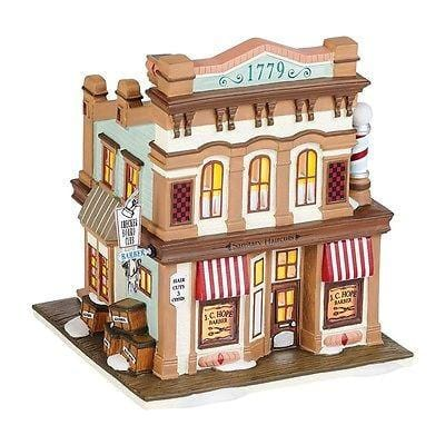 Dept 56 New England 2014 J. C. Hope Barber #4036528 NIB