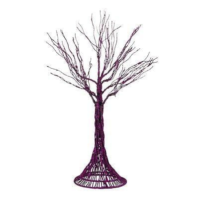Dept 56 Halloween Haunted Branches-Purple #4033854 NEW FREE SHIPPING 48 STATES