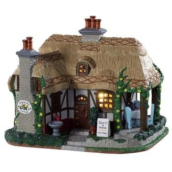 Lemax Huneysuckle Cottage  #95536  Free Shipping