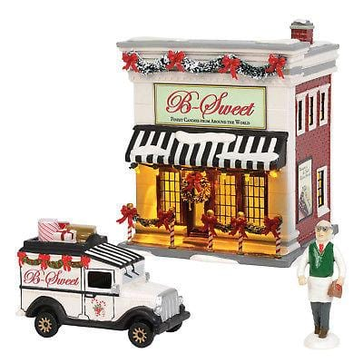 Dept 56 Snow Village 2018 B Sweet Shop Set #6002956 NIB    Free Shipping 48 States  2018
