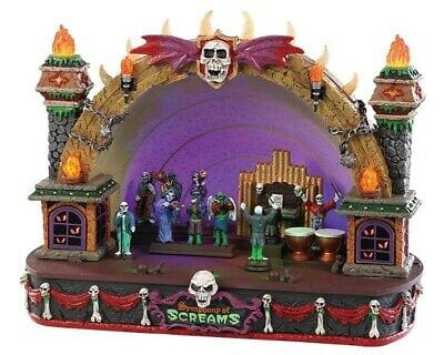 Lemax Halloween 2019 Symphony Of Screems #85303 Free Shipping 48 States 2019