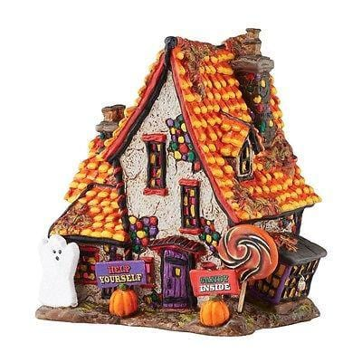 Dept 56 Halloween 2016 Sweet Trappings Cottage #4051012 NIB FREE SHIP 48 STATES
