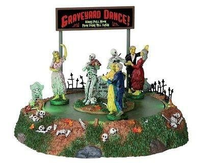 Lemax 2014 Halloween Graveyard Dance #34601 NIB FREE SHIPPING OFFER