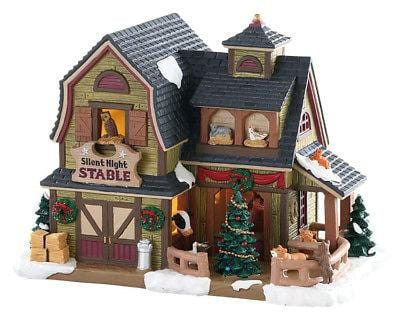 Lemax 2018 Silent Night Stable #85325 NIB FREE SHIPPING 48 STATES