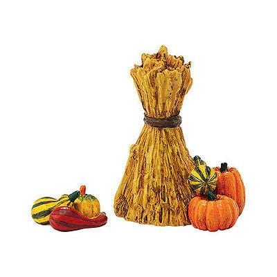 Dept 56 2015 Harvest Fields Gourds Set/2 #4048719 NIB FREE SHIPPING 48 STATES