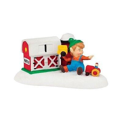Dept 56 North Pole 2014 Fisher Price Lil Farmer #4036558 NIB FREE SHIPPING OFFER