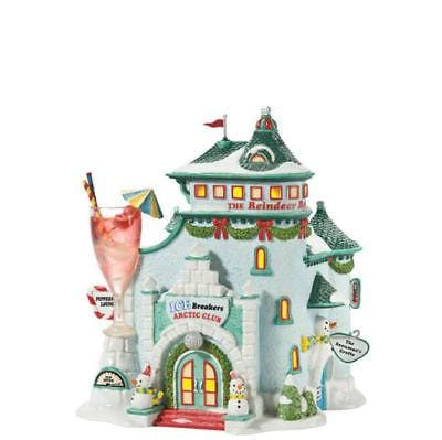 Dept 56 North Pole Ice Breakers Lounge 808924 FREE SHIP