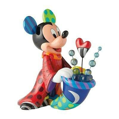 Disney By Britto 2019 Sorcerer Mickey Big Figurine #6003339 Free Shipping 48 States 2019
