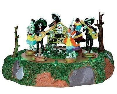 Lemax 2014 Halloween Day Of The Dead Parade #44732 NIB FREE SHIPPING 48 STATES