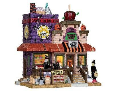 Lemax 2012 Trick Or Treat Candy Shop #25328 NIB FREE SHIPPING