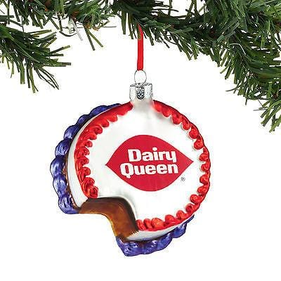 Dept 56 2016 DQ Ice Cream Cake Ornament #4050484    FREE SHIPPING 48 STATES