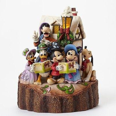 Jim Shore Disney Traditions 2015 Carved By Heart Caroling #4046025 NIB