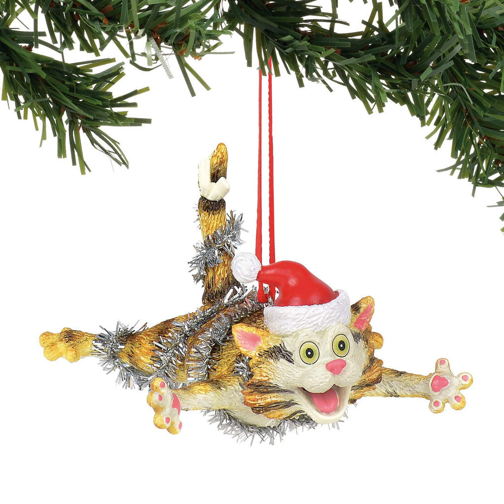 Gary Patterson Christmas Bliss Cat Ornament #6000458     Free Shipping 48 States   2018