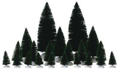 Lemax #74691 Assorted Fir Trees (Set/21) NIB FREE SHIPPING OFFER