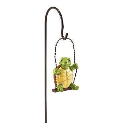 Dept 56 Garden 2015 Hatch On Swing #4051197 NIB FREE SHIPPING 48 STATES