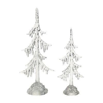 Dept 56 2011 Icy Trees #4020265 FREE SHIPPING