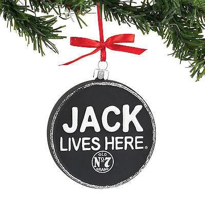 Dept 56 2016 Jack Daniel's Jack LIves Here Ornament #4052184    FREE SHIP
