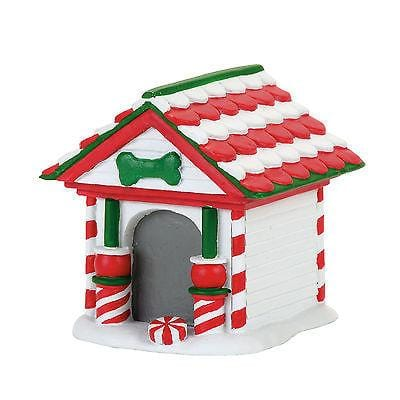 Dept 56 2017 Peppermint Dog House #4057593    FREE SHIPPING 48 STATES
