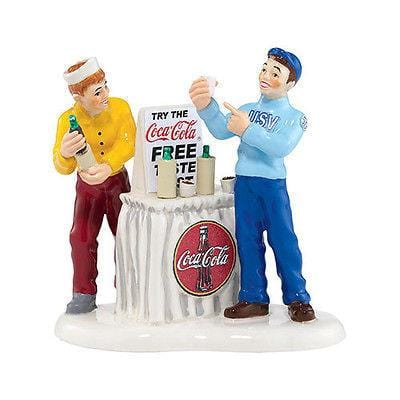 Dept 56 Snow Village 2013 Coke Is It! #4035587 NIB FREE SHIPPING 48 STATES
