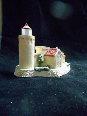 Harbour Lights Lighthouse Boston Harbor, MA #117 SIGNED FREE SHIP CLEARANCE