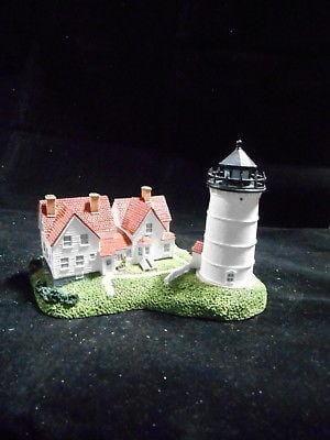 Harbour Lights Lighthouse Nobska, MA #203 FREE SHIPPING 48 STATES CLEARANCE