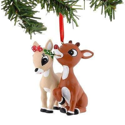 Dept 56 Rudolph 2015 Rudy/Clarice Resin Ornament #4039749 NEW FREE SHIP 48 STATE