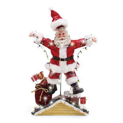 Possible Dreams 2018 Santa Lighted Christmas Vacation Shocking Santa #6000796      Free Shipping 48 States 2018