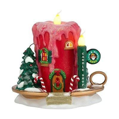Dept 56 North Pole 2013 Jack B Nimble Candle Shop #4030719 NIB
