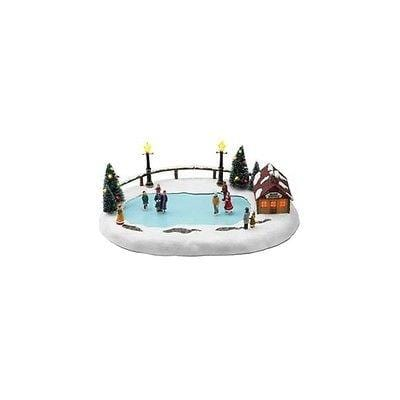 Mr. Christmas Winter Wonderland Skating Pond #36726 MIB FREE SHIPPING OFFER