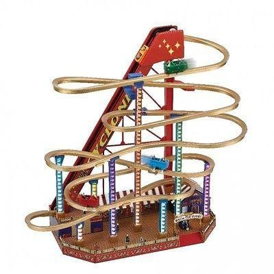 Mr. Christmas World's Fair Rollercoaster #79751 NEW FREE SHIPPING 48 STATES