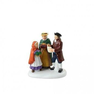 Dept 56 Williamsburg Caroling In Williamsburg #4018972 NIB FREE SHIP 48 STATES